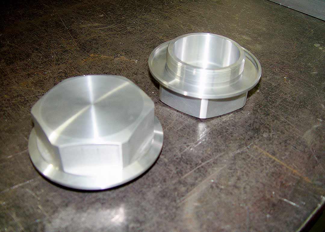 Machined threaded parts