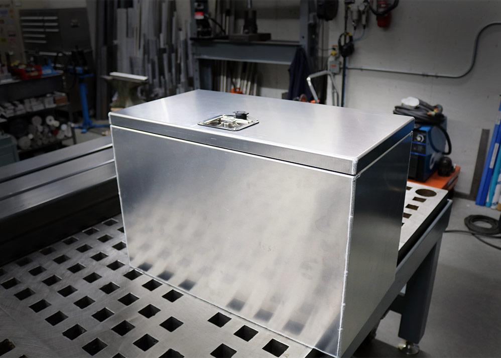 Fabricated lock box